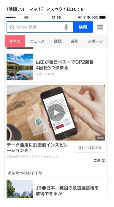 動画広告 インバナー広告